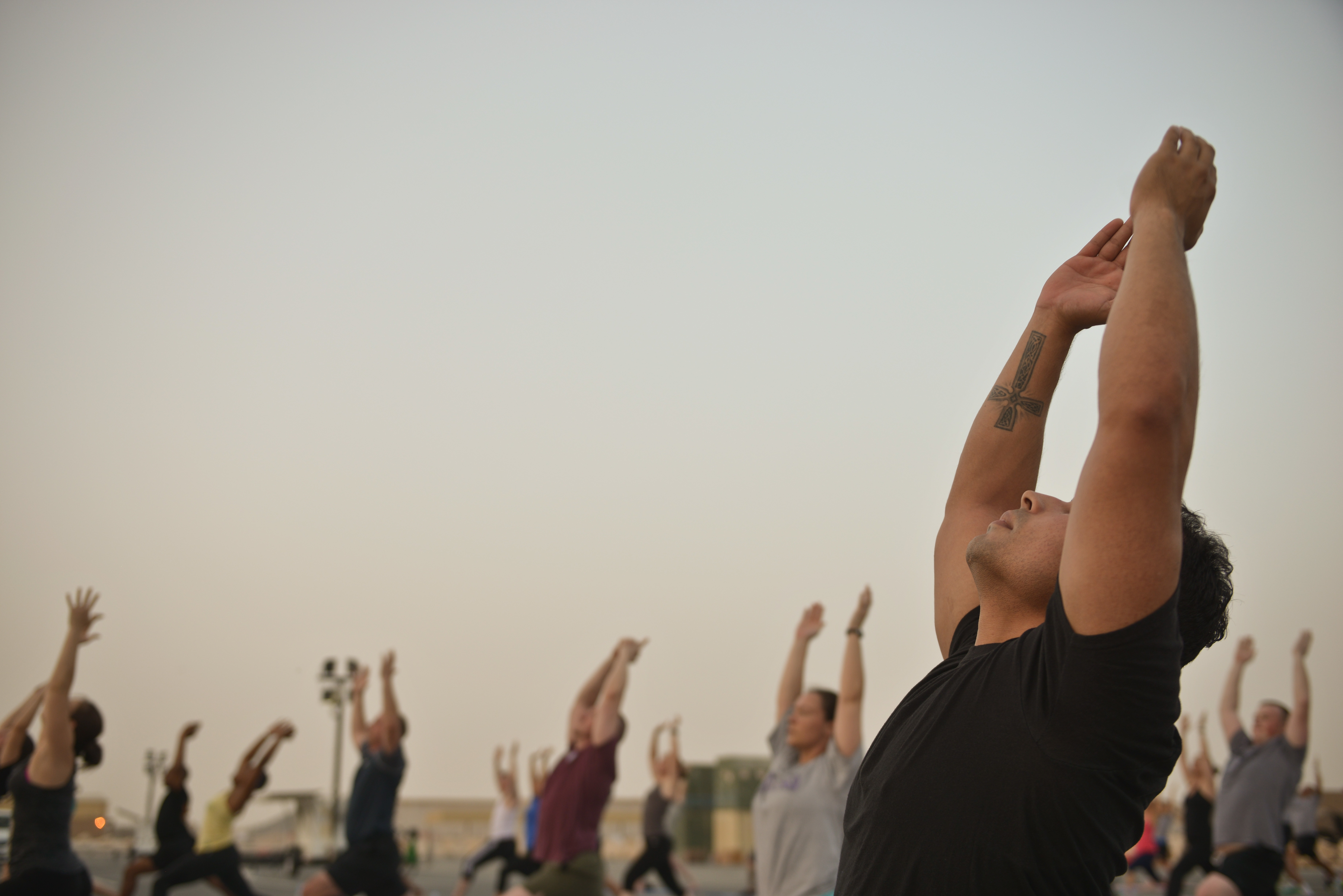 Cure for Modern Day Stresses with yoga